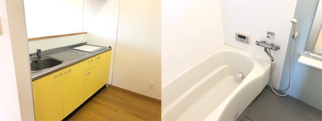 賃貸アパート サジタリウス 水回り写真