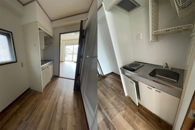 賃貸アパート CASA MIA キッチン写真