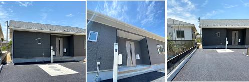 中津川市茄子川 3号棟 新築戸建て 外観写真